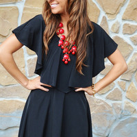 She Has Good Taste Dress: Black | Hope's