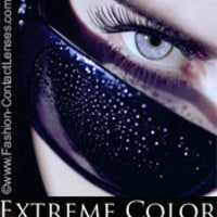 Passionate Platinum Extreme Color Contact Lenses