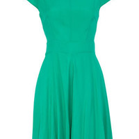 Green circle dress - Day Dresses - Dorothy Perkins