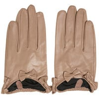 Bow Cuff Gloves - Winter Accessories  - Accessories