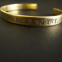 There is no try Cuff Bracelet | Spiffing Jewelry