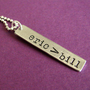 Eric &gt; Bill Necklace | Spiffing Jewelry