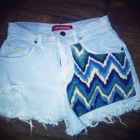 Tribal Highwaisted Shorts