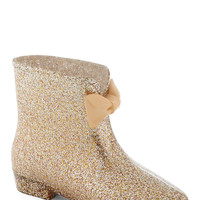 Glitter-Patter Rain Boot | Mod Retro Vintage Boots | ModCloth.com