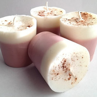Soy Votive Candles : Chai Tea Scented Votives