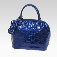 shop.sanrio.com - Hello Kitty Midnight Blue Patent Handbag