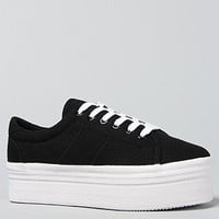 The Zomg Sneaker in Black and White