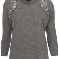 Mirror Embellished Jumper - New In This Week  - New In