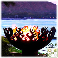 Great Bowl O'Fire Artisanal Firebowls by Unger Studios - BuyGreen.com