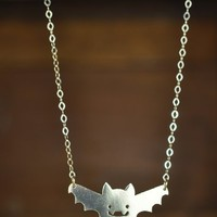 Supermarket - Batsu Solid Sterling Silver Necklace from CORKY