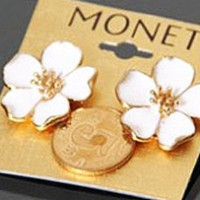 PRE ORDER your Monet Flower Earrings