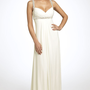 JS Boutique Pearl Trim Crisscross Matte Jersey Gown | Nordstrom