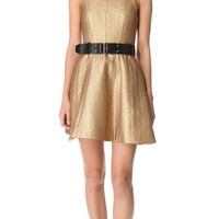 Rag & Bone Renard Metallic Dress | SHOPBOP