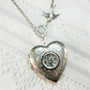 Silver Compass Locket - The ORIGINAL Silver Locket Necklace - Follow Your Heart COMPASS LOCKET- Wedding Birthday Bridesmaids Graduation Gift