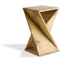 Foreside - Twisted Wood Table, 25