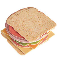 Welcome to the Club Sandwich Coasters | Mod Retro Vintage Decor Accessories | ModCloth.com