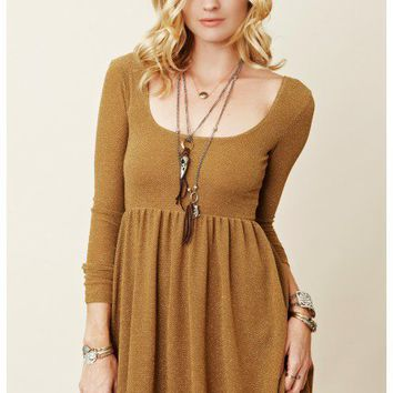 Free People - Knit Day And Night Dress