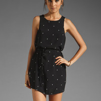 Something Else by Natalie Wood Diamond Tank Dress in Black/White from REVOLVEclothing.com