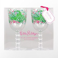 Lilly Pulitzer - Wine Glass