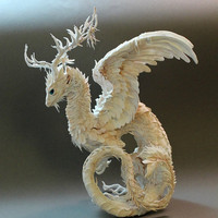 White Antler Dragon