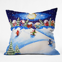 DENY Designs Home Accessories | Renie Britenbucher Skiers Throw Pillow