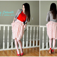 C&C: Copy Catwalk: stand and deliver skirt
