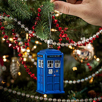 Doctor Who Figural Holiday Ornaments - TARDIS