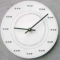 clock 825 now by mbartstudios on Etsy