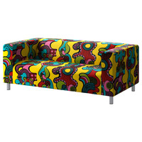 KLIPPAN Loveseat - Mollaryd multicolor  - IKEA
