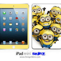 New iPad Mini Skin Despicable Me Minions 1 LONG LASTING Decal