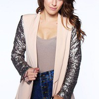 The Sleeve of Elegance Blazer