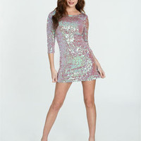 Iridescent Sequin Mini Dress | Shop Dresses at Arden B