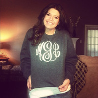 Monogrammed Sweatshirt