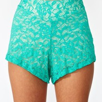 Rose Lace Shorts