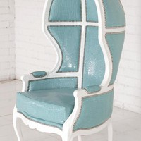 www.roomservicestore.com - Balloon Chair in Aqua Croc