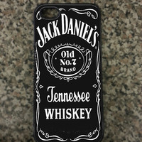 iPhone 5 Jack Daniels Hard iPhone Case Available in Black or white