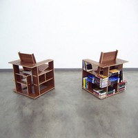 chair bookcase bookcase chair - Furniture & Decor - Home & Office - Yanko Design