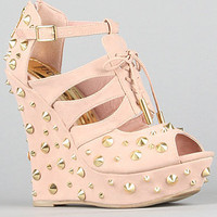 The Lament Shoe in Blush
