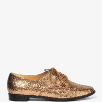 Glittered Oxfords | FOREVER21 - 2021841155