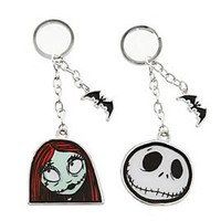 The Nightmare Before Christmas Jack & Sally Key Chain Set - 136941