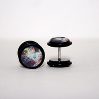 Galaxy City Swirl Fake Plugs by Plug-Club