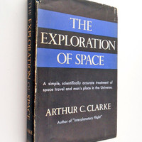 The Exploration of Space Book Arthur C Clarke Space Travel 50s Science Hardback