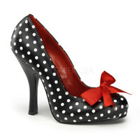 Polkadot Cutiepie Retro Shoes - Pin Up Couture - Shoes - Love Burlesque