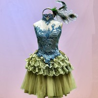 Peacock Fairy Tutu by TheBohemianGoddess on Etsy