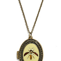 Honey Bee Mine Necklace | Mod Retro Vintage Necklaces | ModCloth.com