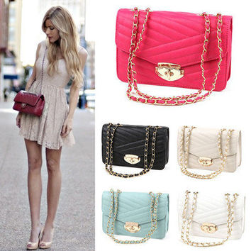 Womens Celebrity Style Handbag Shoulder Messenger Cross Body Purse Satchel bags