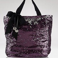 Juicy Couture Northeastern Star Sequin Tote - All Handbags - Bloomingdales.com
