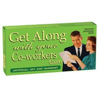 Get Along With Your Co-Workers Gum - Whimsical & Unique Gift Ideas for the Coolest Gift Givers