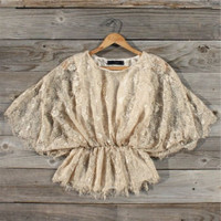 Champagne Hills Lace Blouse, Sweet Country Inspired Clothing