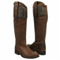 NWB Womens Steve Madden Reggime Knee High Riding Boots Brown Leather 6 8 9 10
